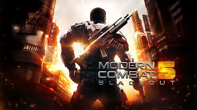 Modern Combat 5 Black Out